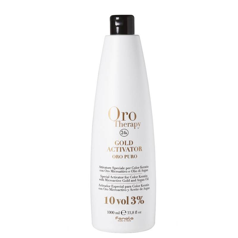 Oro Therapy Oxydant 10 volumes Gold Activator 1000ML, Oxydant