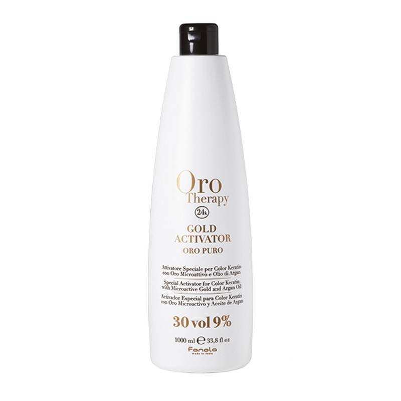 Oro Therapy Oxydant 30 volumes Gold Activator 1000ML, Oxydant