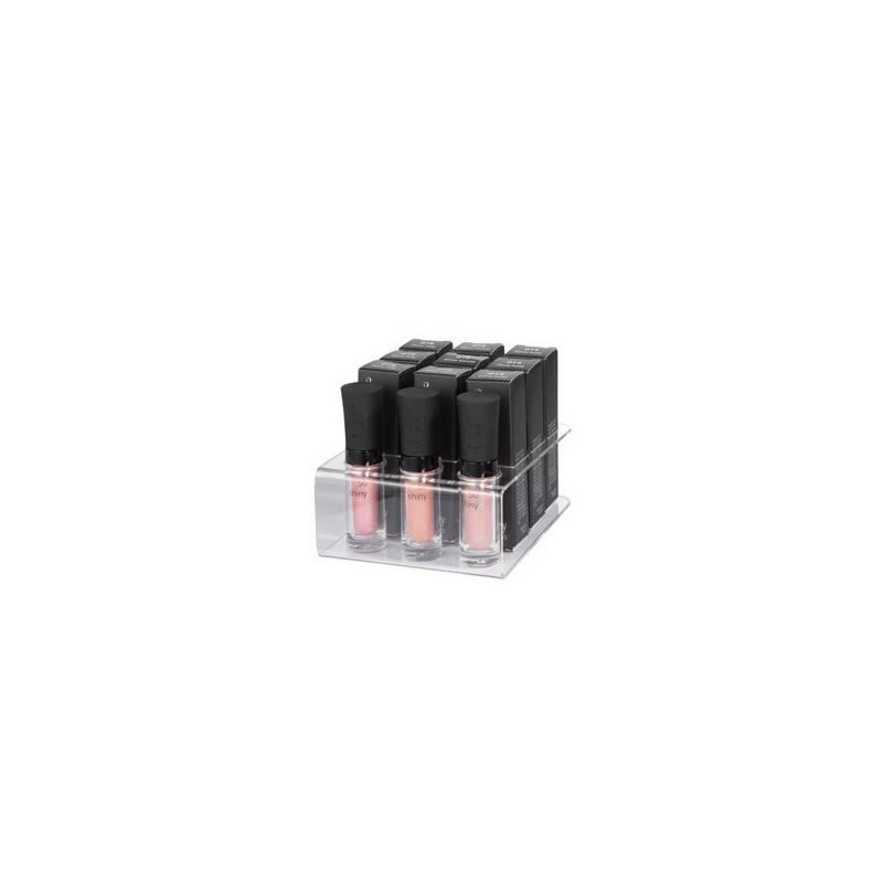 Peggy Sage Support plexiglas pour 9 Shiny Gloss, Présentoir produits