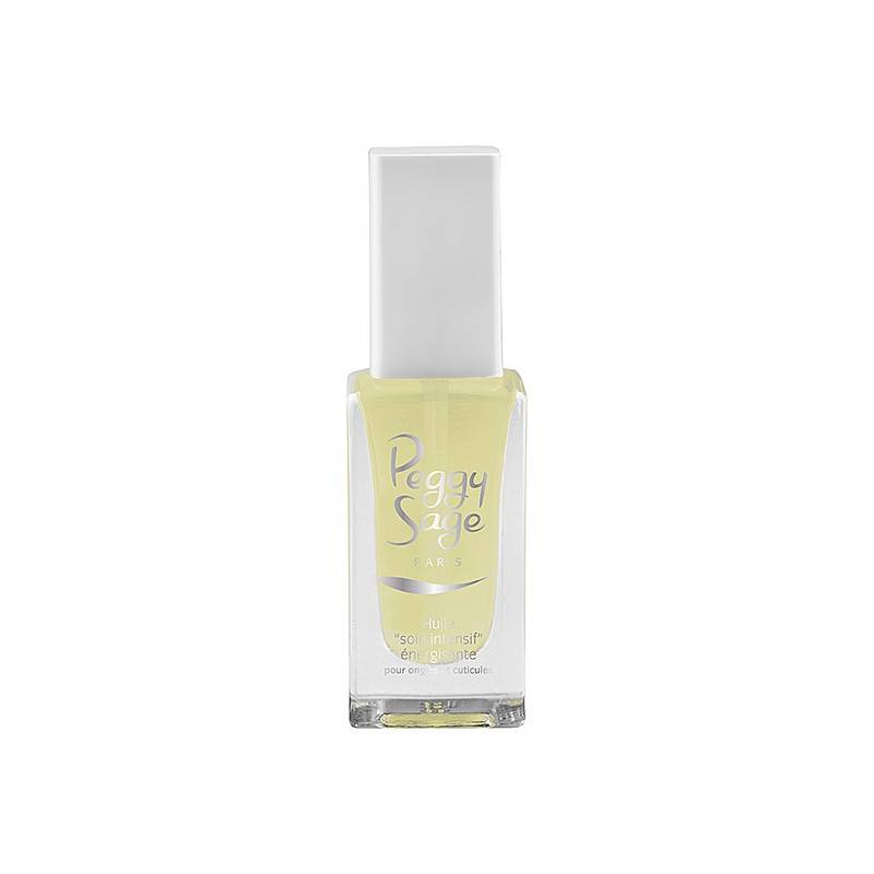 Peggy Sage Huile soin intensif énergisante pour ongles et cuticules 11ML, Soin intensif
