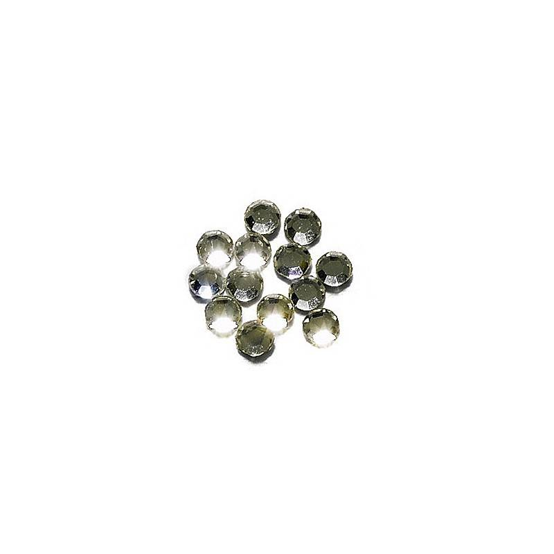 Peggy Sage Strass pour ongles SS3 x20 Argent, Nail Art Strass