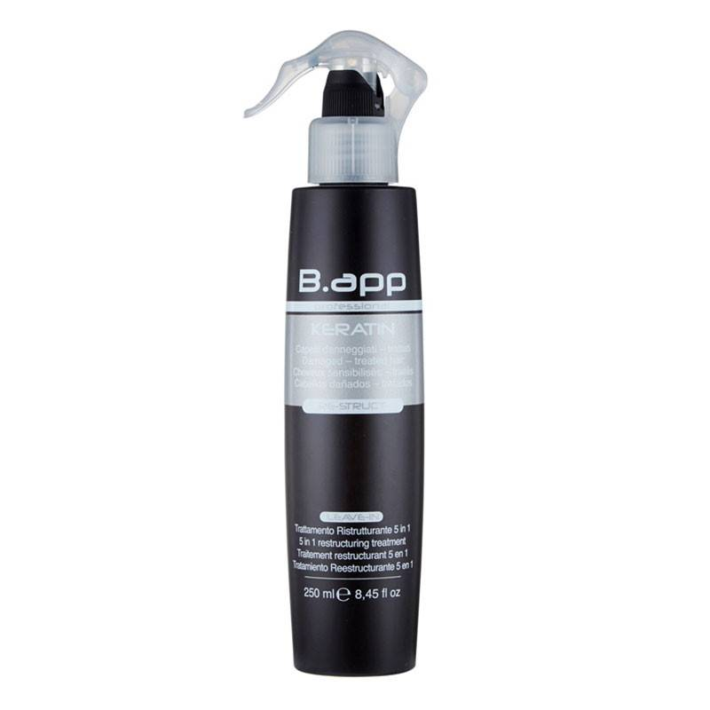 B-App Spray Re-struct 5 actions restructurantes 250ML, Spray cheveux