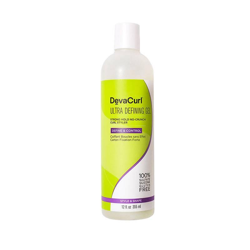 DevaCurl Ultra Defining Gel coiffant fixation forte boucles 355ML, Crème cheveux
