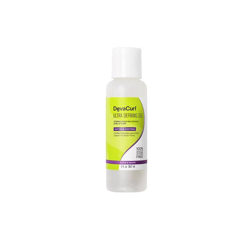 DevaCurl Ultra Defining Gel coiffant fixation forte boucles 88ML, Crème cheveux