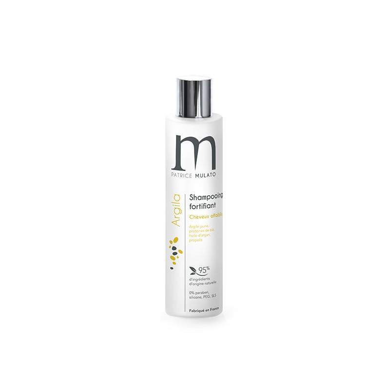 Mulato Shampooing fortifiant argile jaune Argila 200ML, Shampoing naturel
